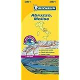 Abruzzo & Molise - Michelin Local Map 361 (Michelin Local Maps)