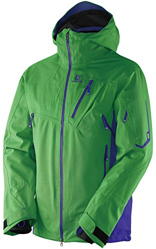 (Salomon Men's Foresight 3l Jacket, Bud Green, Medium)