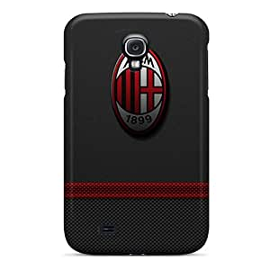 Samsung Galaxy S4 HOb17214XMPn Allow Personal Design Nice Ac Milan 3 Series Scratch Protection Hard Phone Case -AaronBlanchette