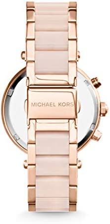 Michael Kors Parker Stainless Steel Watch With Glitz Accents WeeklyReviewer