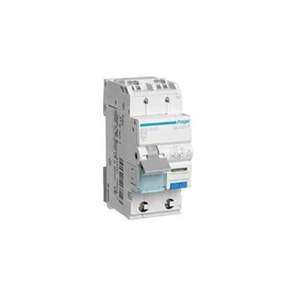 Hager ADS916D Fehlerstrom-LS-Schalter B 16A 30mA 2-polig 1-polig ...