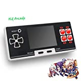 WOLSEN Old Arcade New 8 Bit Kids Classical Retro Classical Pocket Handheld Game Player Portable Game Console Pocket Console with 200 Games