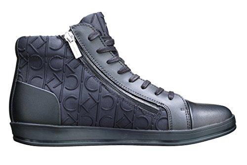 Calvin Klein Berke Brsh leat ck emboss neopr Black F0930BBK pointure 41