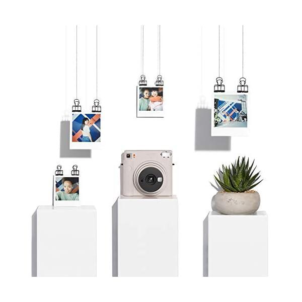 RetinaPix Fujifilm Instax Square SQ1 Camera - Chalk White with Film Box