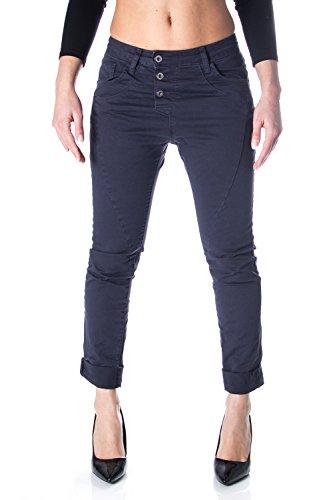 Fonc Jeans P78 Femme Bleu Pantalon Baggy Please vOfxwqY