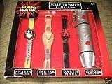 Star Wars Episode 1 Sculpted Watch Collection Anakin Skywalker, Jar Jar Binks and Darth Maul