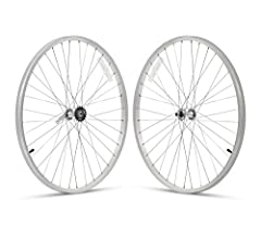 Customize your 26-inch, single-speed Firm strong Urban Man or Urban Lady Beach Cruiser bicycle with this painted aluminum front-and-rear wheelset. The wheelset includes 26 x 1.75-Inch front and rear alloy rims, spokes and hubs. Color match or...
