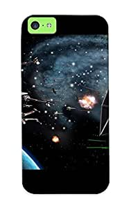 High Quality Honeyhoney Star Wars Battle Skin Case Cover Specially Designed For Iphone - 5c