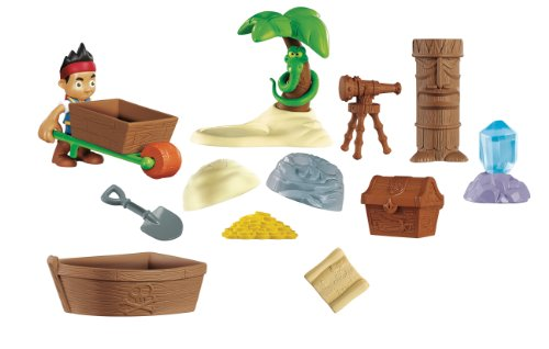 Fisher-Price Disney's Jake and The Never Land Pirates: Never Land Treasure Pack