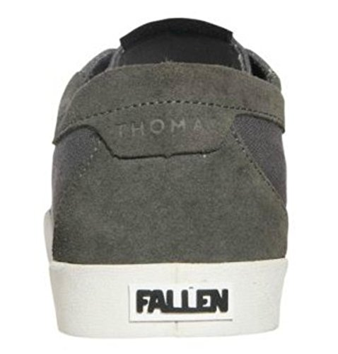Fallen Skateboard Thomas Shoes Yuma White Grey T0qZWTgr