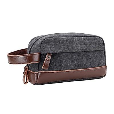 fd81352468 low-cost Travel Toiletry Bag Men Shaving Dopp Kit Canvas Cosmetic Case  Makeup Bag