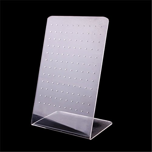 120 Holes Earring Holder Ear Stud Jewelry Stand Display Stand Showcase Rack 09 120 Holes ()