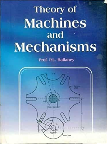 Theory Of Machines By Joseph Edward Shigley Pdf