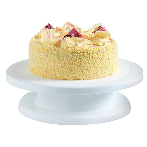 VonShef Professional Rotating Cake Decorating / Icing Turntable Display Table Stand, 10.8 inches x 2.8 inches