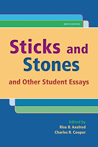 Sticks and Stones: And Other Student Essays