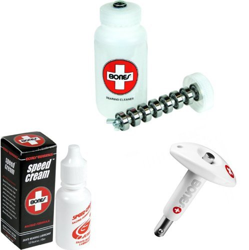 (Bones Skate Clean and Lube Maintance Package (Without Skateboard Tool))