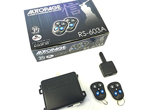 UPC 856795005023, AutoPage RS-603A Remote Car Starter with Keyless Entry