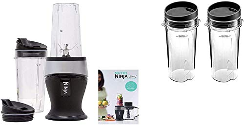Ninja Personal Blender for Shakes, Smoothies, Food Prep, and Frozen Blending with 700-Watt Base (700 Watt Belnder)