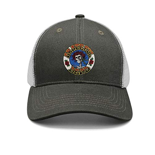 Grateful-Stream-dead-Release-American-rock-band-5-1- Snapback Trucker Cap for Men and Women Clean Up Adjustable Hat One Size