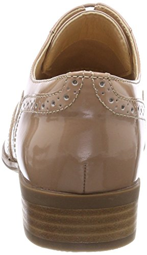 Beige Nude Oak Brogue Damen Hamble Schnürhalbschuhe Clarks Patent 6qvpwfx
