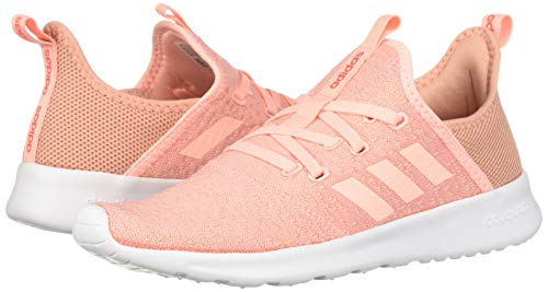adidas Women's Cloudfoam Pure, Clear Orange/Solar red, 5 M US by adidas (Image #5)