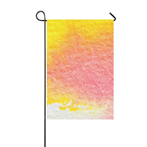 Home Decorative Outdoor Double Sided Watercolour Painting Te