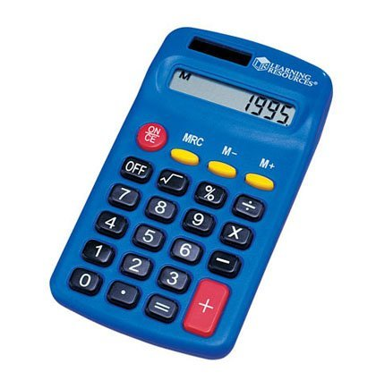 LEARNING RESOURCES Primary Calculator Set Of 10 Learning Resources Primary Calculator