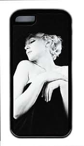 ipod touch 4 touch 4/ipad touch 4 - ipod touch 4 touch 4 Case DIY - DIY ipod touch 4 touch 4 Case cover Marilyn Monroe PC Black Case-MMipad touch 4TBDX022