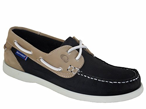Navy Quayside Ladies Bermuda Quality Sand Deck Shoes XxSqZSwPz