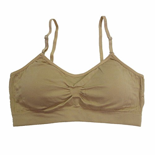 Coobie Seamless Scoopneck Bra,Regular Nude,One Size