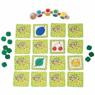 Rolling Caterpillar Game - colorful dice (Rolling Caterpillar)