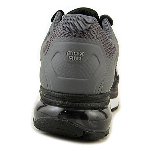 Nike Air Max Excellerate + 2, Scarpe Da Corsa Da Uomo. Nero / Argento Metallizzato / Grigio Scuro / Nero Platino Puro / Argento Metallizzato-grigio Scuro-platino Puro