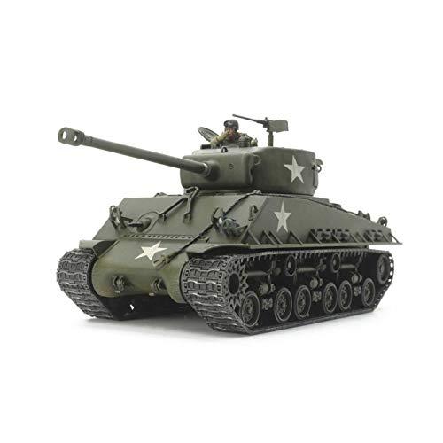 Tamiya America, Inc 1 48 U.S. Medium Tank M4A3E8 Sherman Easy Eight, TAM32595 (Tamiya Military Models)