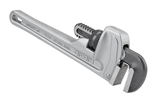 ridgid-31090-model-810-aluminum-straight-pipe-wrench-10-inch-plumbing-wrench