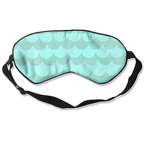 Ming Horse Adult Children Unisex Light Sea Waves Eyeshade Sleep Mask Eye Mask