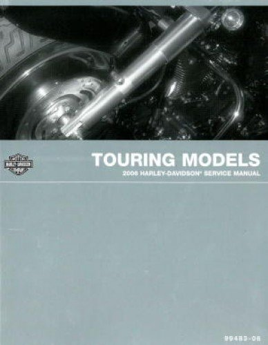 99483-06 2006 Harley Davidson Touring Service Manual