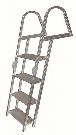 - 4 Step Folding Pontoon Ladder