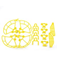 Shaluoman Spark Accessories Kit Protection Combo Including Propeller Guards & Landing Gear Stabilizers & Finger Guards for SPARK Yellow