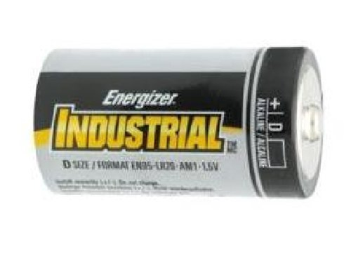72 x D Energizer Industrial Alkaline Batteries (EN95) by Energizer