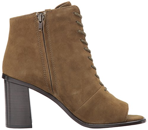 FRYE Peep Boot Lace Amy khaki Women's suede wEFqapWrwc