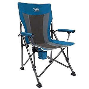 6. Timber Ridge Hi Back Ergonomic Camping Chair