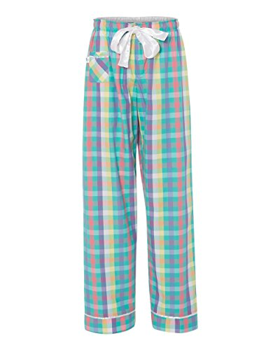 Boxercraft Seersucker - Boxercraft C16 Women's Cotton VIP Pants-Navy Seersucker-XS