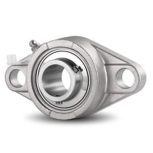 DOJA Industrial | Rodamientos con Soporte UCFL 207 INOX Cojinete ...