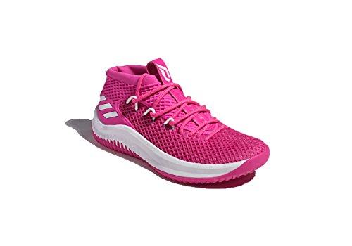 27c20bd87fed adidas SM Dame 4 NBA NCAA BC Shoe Men s Basketball 13 Shock Pink ...