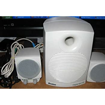 Amazon.com: Boston Acoustics BA735 Digital Speakers Sub