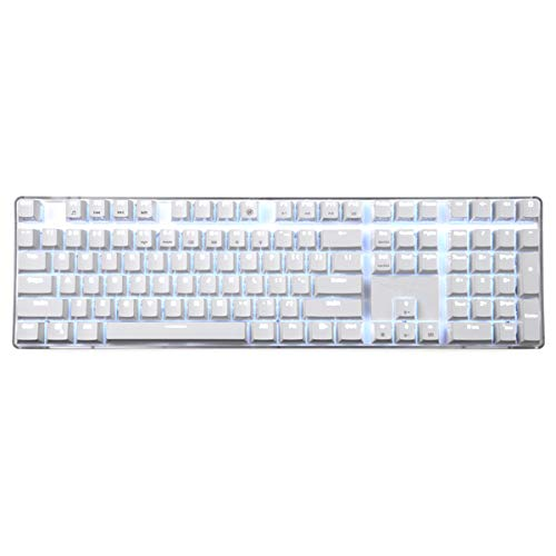 17a694d57f2 Qisan Wired Mechanical Gaming Keyboard OUTEMU Blue Switch 68-Keys ...