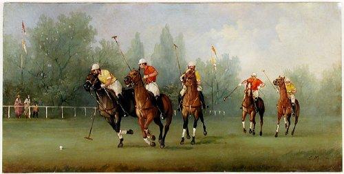 Edwardian Polo Match (Marco Polo Costume)