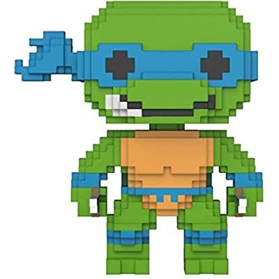 Funko 8-Bit Pop: Teenage Mutant Ninja Turtles-Leonardo Collectible Figure: Funko 8-Bit Pop!:: Toys & Games