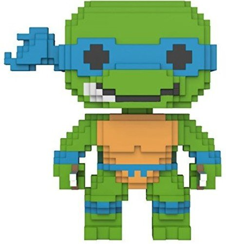 Funko 8-Bit Pop: Teenage Mutant Ninja Turtles-Leonardo Colle