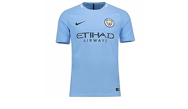 hot sale online 524b8 846fd Amazon.com : NIKE Manchester City FC Vapor Match Jersey ...